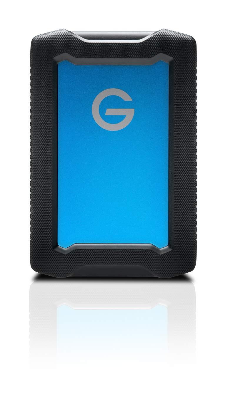 G-Technology 4TB ArmorATD All-Terrain Portable External Hard Drive - USB-C, Thunderbolt 3, USB 3.0 - 0G10435-1
