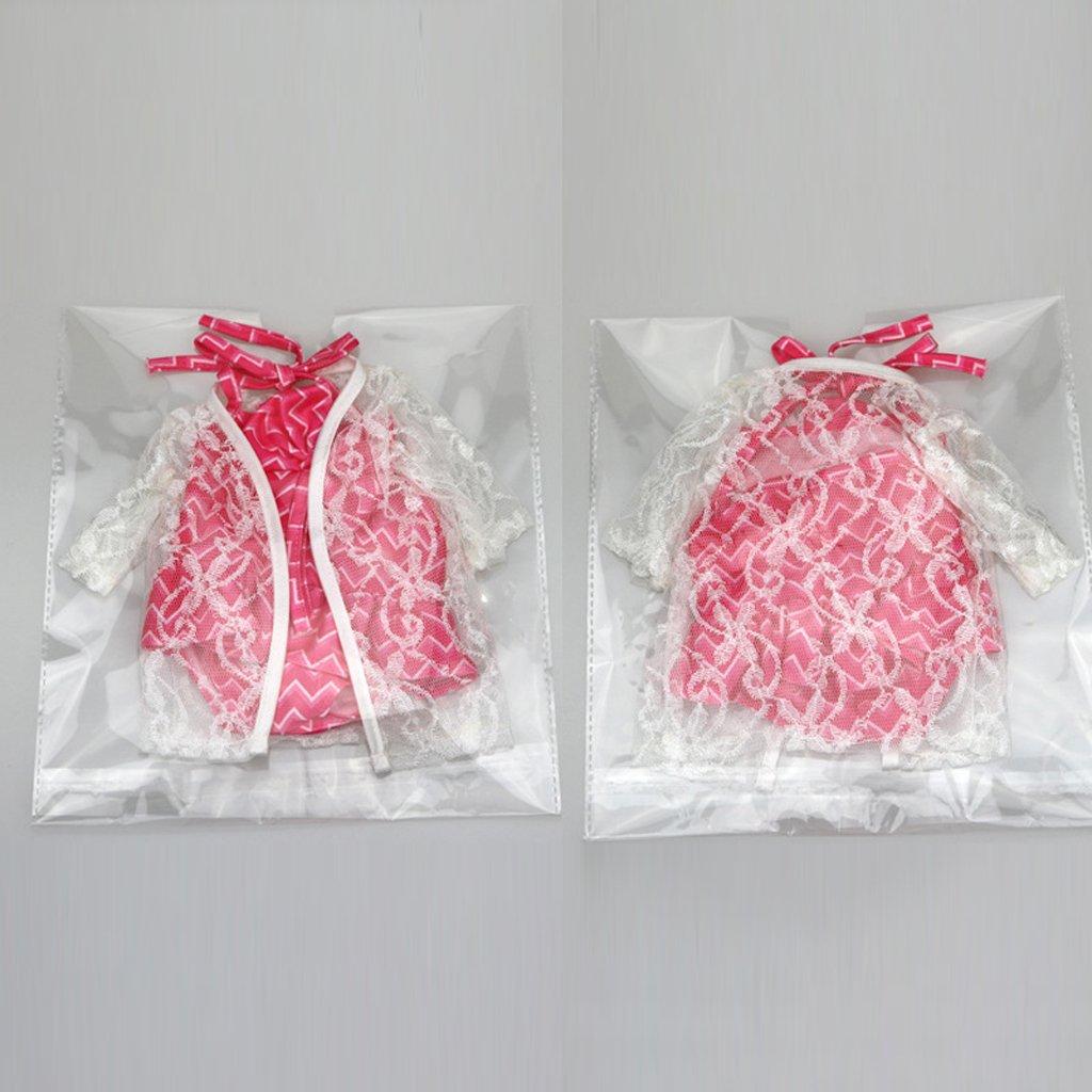 #2 perfk V/êtements Poupon Maillot de Bain pour 18 Pouces Doll V/êtement Poup/ée 30 /à 39 cm