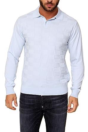 Cortigiani Marclo - Jersey de Cuello de Polo para Hombre, Color ...