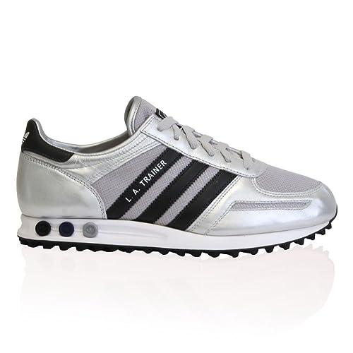 adidas Originals la Trainer Silver 3 Strisce Scarpe da
