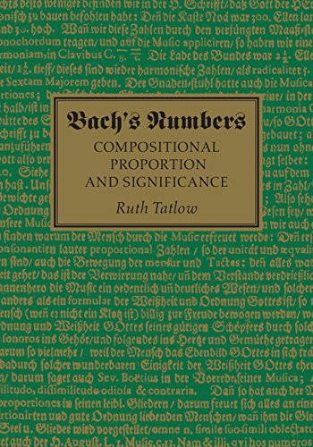 Download Bach's Numbers: Compositional Proportion and Significance Pdf