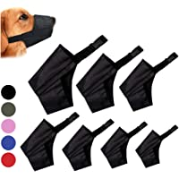 Coppthinktu Dog Muzzle Suit, 7PCS Dog Muzzles for Biting Barking Chewing, Adjustable Dog Mouth Cover for Small Medium…