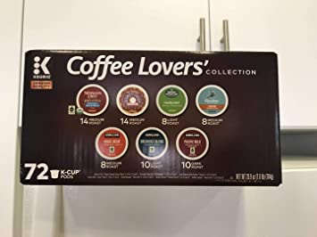 KGM Coffee Lover Collection Single Serve K Cup 72 Count