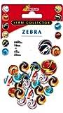 Kim'Play - 9034 - Jeu de Plein Air et Sport - 20 Billes + 1 Calot Zébra - Coloris aléatoire