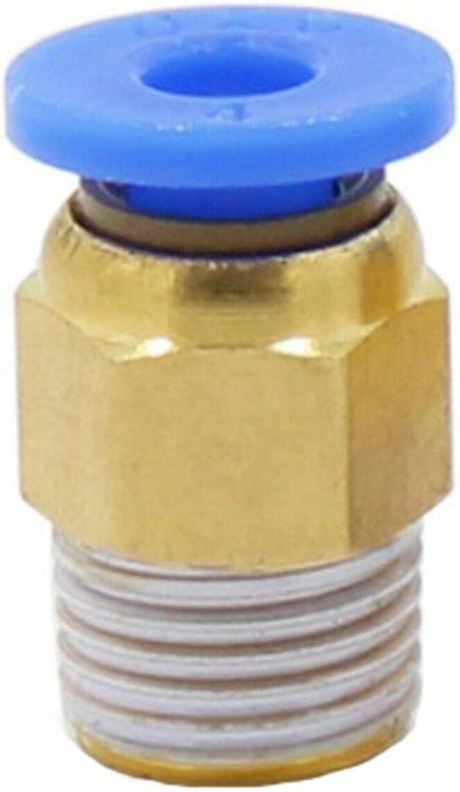 MadridGadgetStore® Acoplador Conector Neumático PC4-01 para Tubo ...