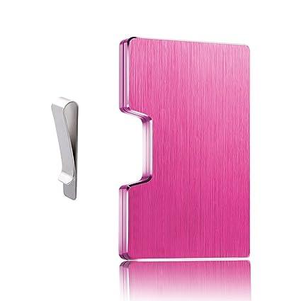 ce31c0a0b Dlife Hombre Tarjeteros -Tarjeteros Para Tarjetas de Crédito RFID de  Aluminio Negocio Mini Carteras para