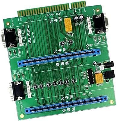 Amazon.es: Gazechimp Jamma 2 En 1 GBS8118 Arcade Juego PCB Mando a ...