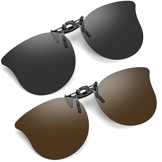 Soxick Cateye - Gafas de sol con clip (2 unidades ...