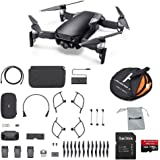 DJI Mavic Air Fly More Combo (Onyx Black) Portable Quadcopter Drone 2018 Version Bundle with Additional Accessories