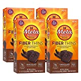Metamucil Chocolate Flavored Fiber Thins Dietary Fiber Supplement with Psyllium Husk, 12 servings (pack of 4) Review