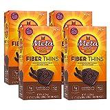 Metamucil Chocolate Flavored Fiber Thins Dietary Fiber Supplement with Psyllium Husk, 12 servings (pack of 4) Review