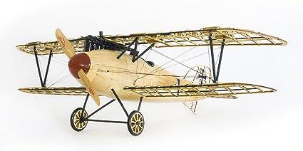 DIY 3D Laser Cutting Wooden Airplane Puzzle Bi-Plane Model Building Kits Kids