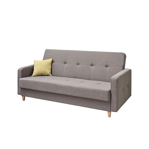Schlafsofa mit bettkasten zum ausziehen  Design Schlafsofa Tango, Sofa mit Bettkasten und Schlaffunktion ...