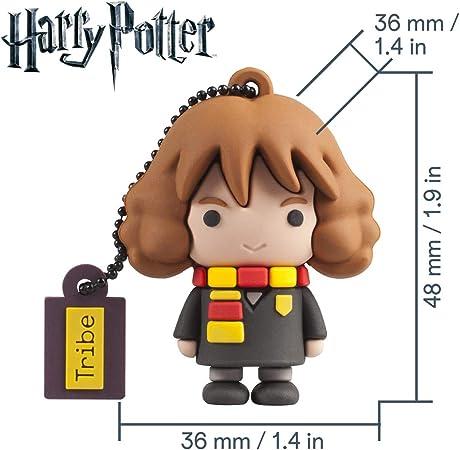 Llave USB 16 GB Hermione Granger - Memoria Flash Drive Original Harry Potter, Tribe FD037502