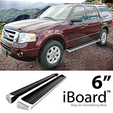 Amazon Com Off Roader Eboard Running Board  Black Fits   Ford Expedition Sport Utility  Door Nerf Bar Side Steps Side Bars Automotive