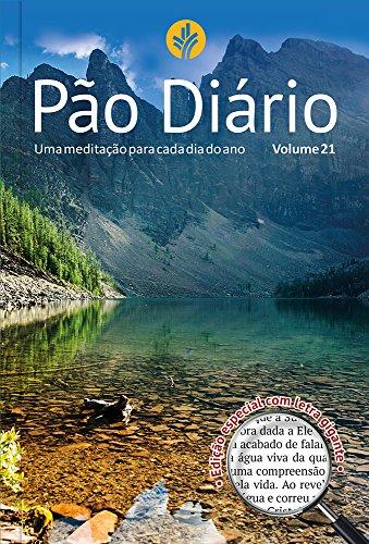 Pão Diário, volume 21 (Capa Paisagem / letra gigante)
