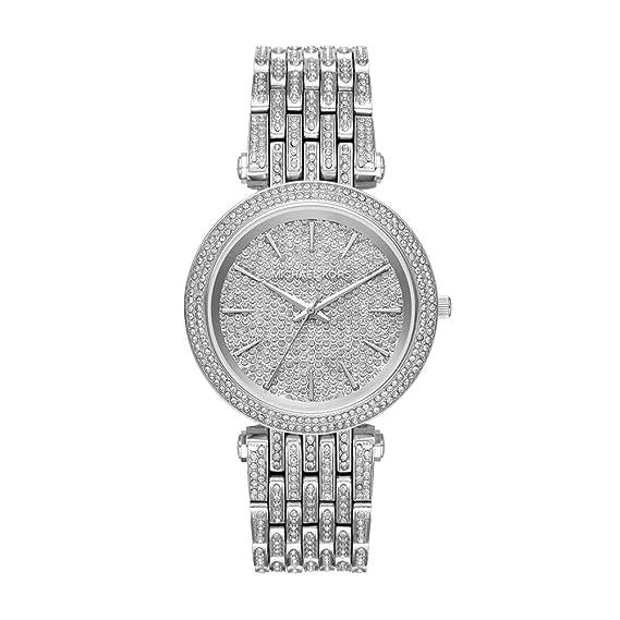 Michael Kors Reloj Analogico para Mujer de Cuarzo con Correa en Acero Inoxidable MK3779: Amazon.es: Relojes