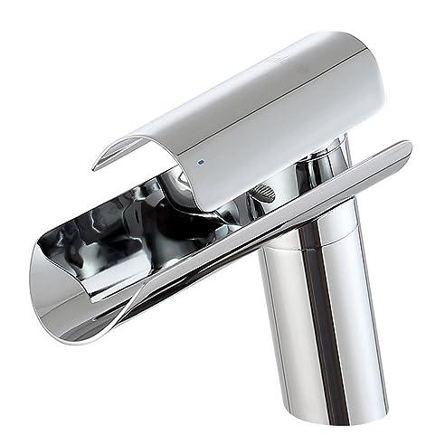 MICOE Waschtischarmatur Wasserfall Badarmaturen Edelstahl Moderner ... | {Badezimmer armaturen 82}