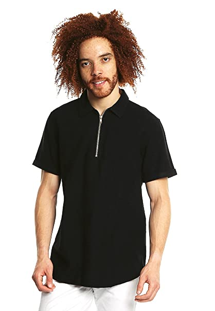 LOB Camisa Negra Manga Corta Camisa para Hombre Negro Talla X1 ... f276ed6c10a