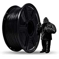 Flashforge® PLA 1.75mm 3D Printer Filaments 1kg Spool-Dimensional Accuracy +/- 0.05mm for Creator Series (Black)