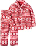Carter's Girls' Toddler Poly Fleece Coat, Print, 10