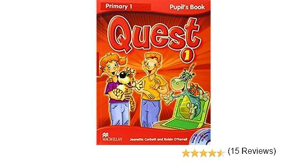 QUEST 1 Pb Pk (+skills tr) (Tiger) - 9780230478978: Amazon.es: Corbett, J.: Libros en idiomas extranjeros
