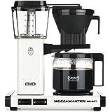 Moccamaster CD vit överflöde kaffemaskin KBG 741 välj
