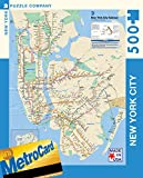 New York Puzzle Company - New York City Transit MTA Subway Map - 500 Piece Jigsaw Puzzle
