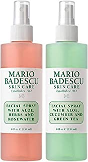 product image for Mario Badescu Facial Spray Herbs/Rosewater and Cucumber/Green Tea (Pack of 2)