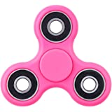 Zonyor Fidget Spinner Pink Anti-Anxiety 365 Spinner Helps Focusing Fidget Toys Premium Quality EDC Focus Toy for Kids & Adults - Best Stress Reducer Relieves ADHD Anxiety