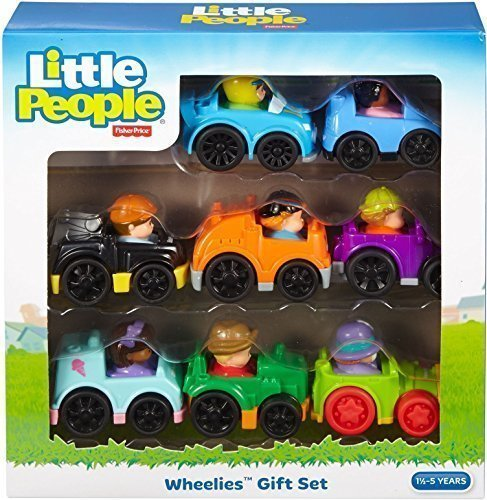 Mattel Little People (Fisher-Price Little People Wheelies Gift Set)