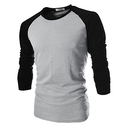 61471a420f746 Image Unavailable. Image not available for. Color  LISTHA Plain Cotton Long  Sleeve T-Shirt ...