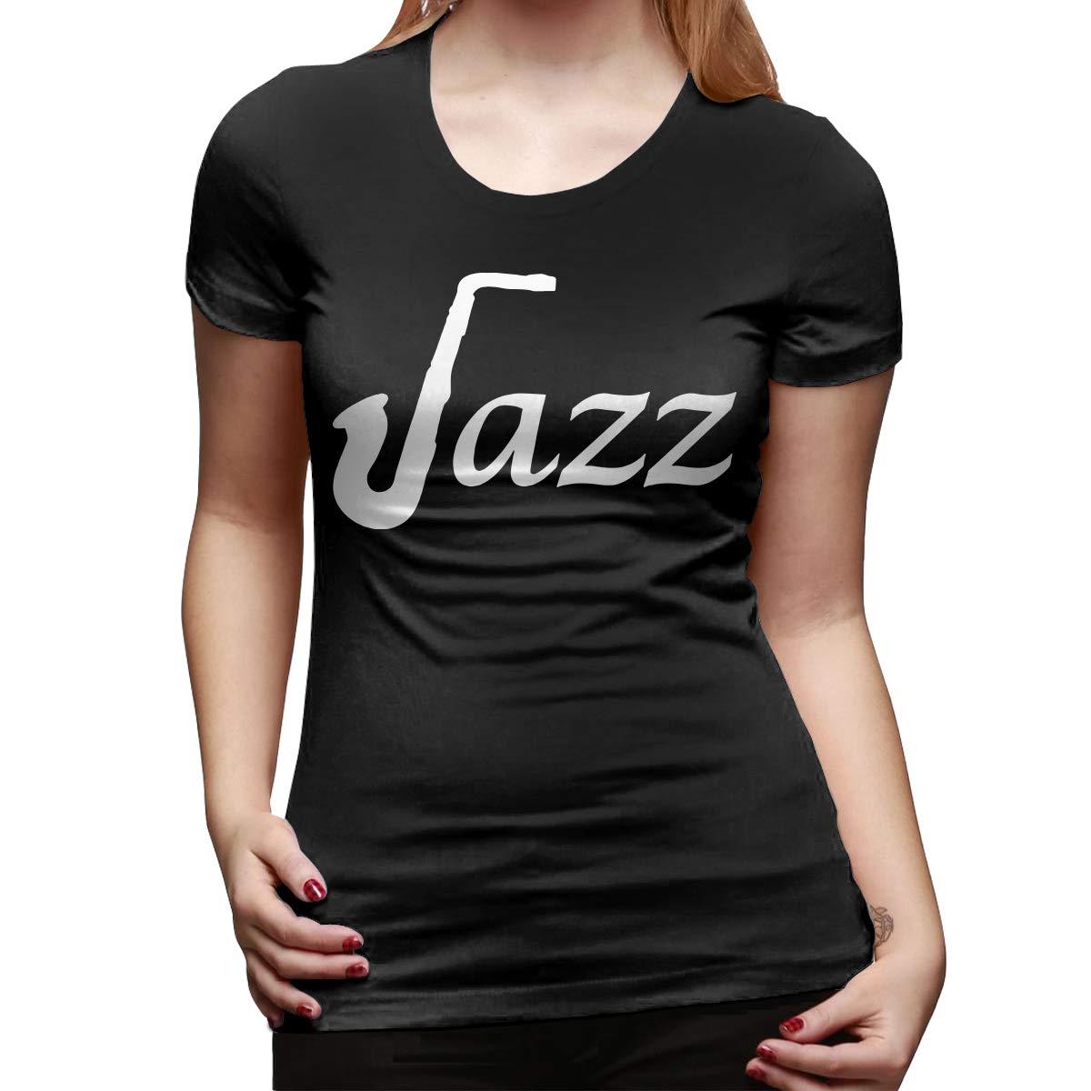 Dj0r46 Jazz Saxophone Short Sleeved Baseball For 7744 Shirts