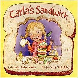 Sandwich Book For Kids