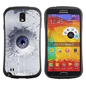 Suave TPU GEL Carcasa Funda Silicona Blando Estuche Caso de protección (para) Samsung Note 3 / CECELL Phone case / / Abstract Eye Splash /