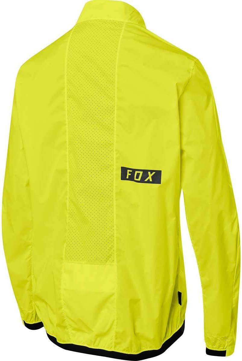 Pewter Fox Racing Defend Wind Jacket Large