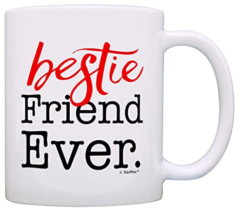 Amazon.com: Bestie amigo nunca Regalos de cumpleaños para ...