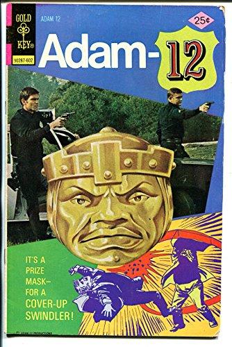 Adam-12 #10 1976-Gold Key-Martin Milner photo cover-Jack Webb-TV series-VG