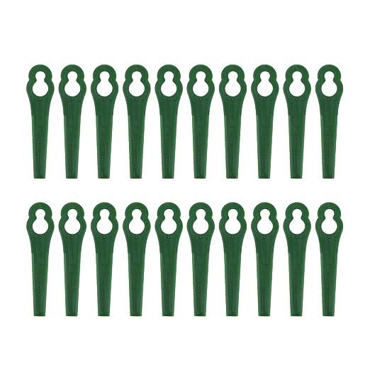 Hankyky - Cuchillas de Corte de plástico para cortacésped Gtech ...