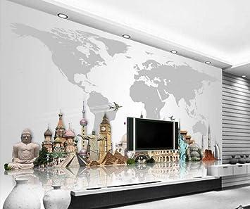Papel tapiz personalizado para paredes mundialmente famosas ...