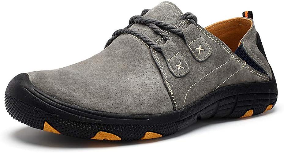 Amazon.com: RQWEIN - Zapatillas de senderismo para hombre: Shoes