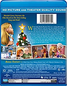 Mariah Carey's All I Want for Christmas Is You [Blu-ray] from Universal Studios Home Entertainment
