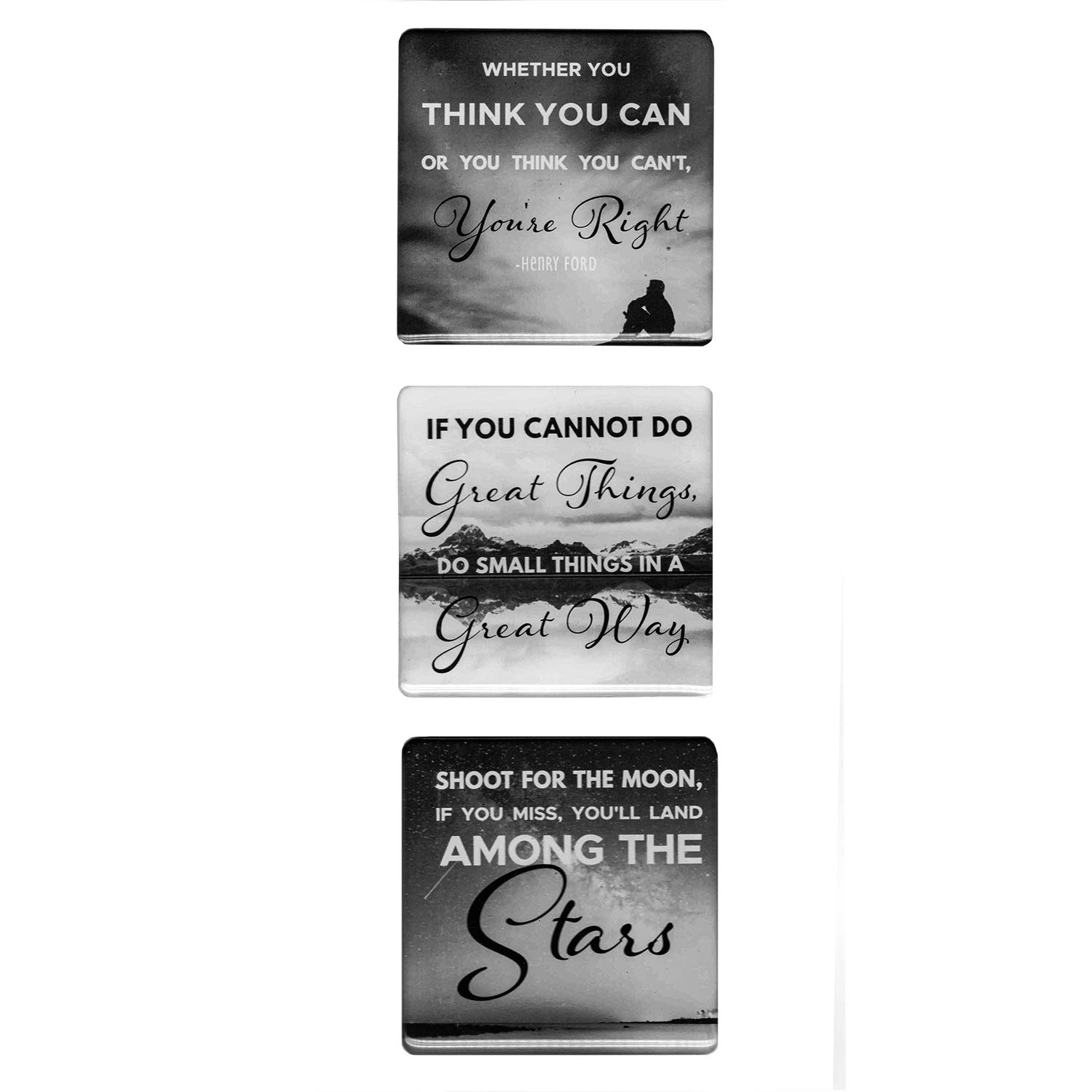 Refrigerator Magnets - Fridge Magnets With Inspiring Motivational Quotes - Montone (1)
