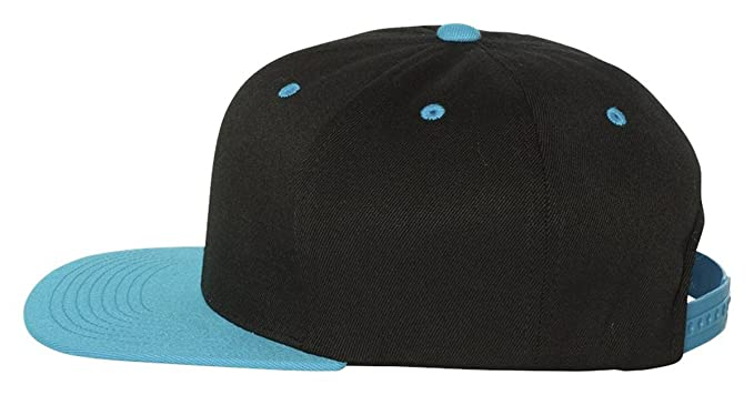 b1303c15aa361 Image Unavailable. Image not available for. Color: Flexfit Wool Blend Flat  Bill Snapback ...