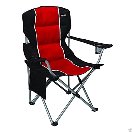 Merveilleux Craftsman Padded Chair, Red