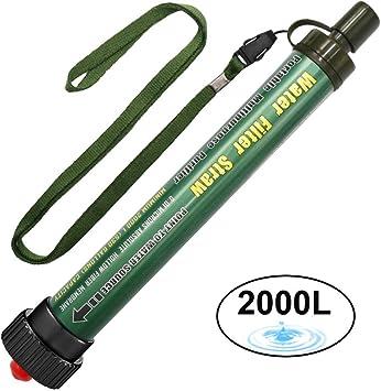 DeFe Filtro de Agua 2000L Personal Sistema de Filtración de Agua ...