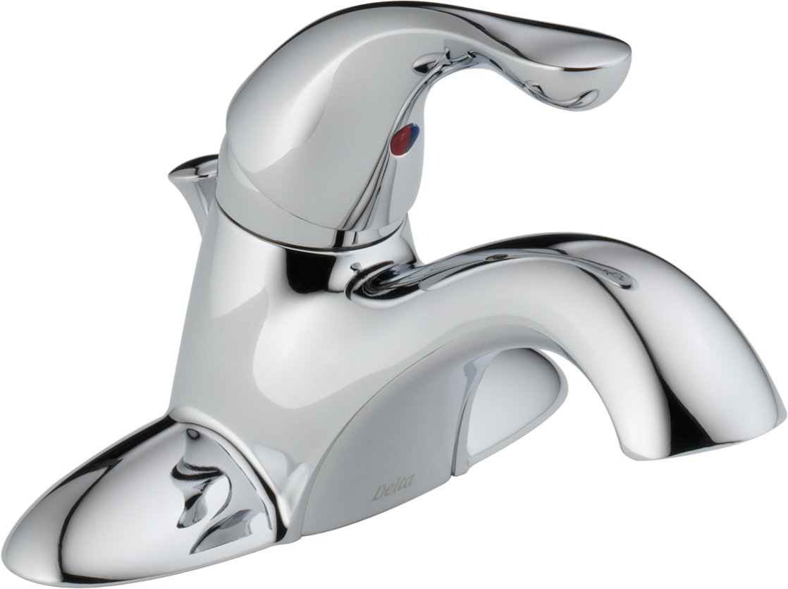 Delta Faucet  520LF-WFMPU Classic, Single Handle Classic Bathroom with Pop-up, Chrome