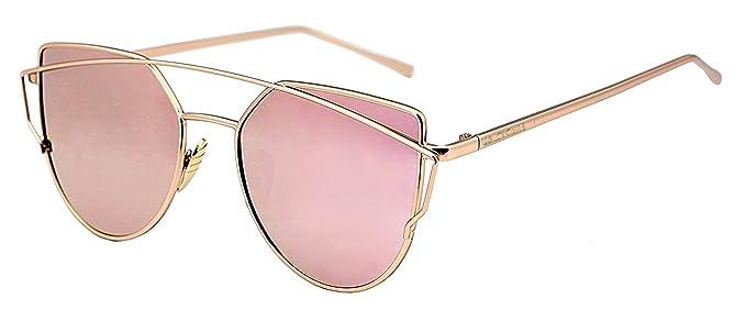 4ecf39e4b0 U.S. CROWN Cateye Mirror Women Men Sunglasses-(US-CROWN-018