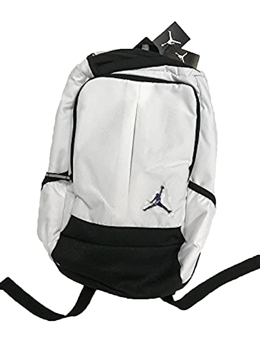 80d78e31ffd3 Amazon.com  Nike New Air Jordan Jumpman Classic Boy s Girl s Bookbag Laptop  Storage Sports Bag