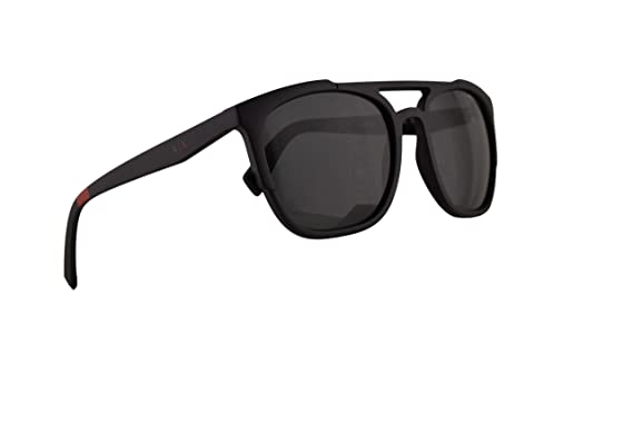 7bfd937e2fdc Image Unavailable. Image not available for. Color  Armani Exchange AX4076S  Sunglasses Matte Black w Grey Lens 56mm ...